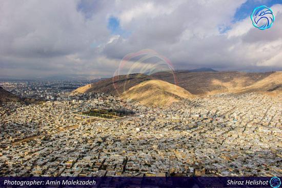 ع های هوایی فوق العاده زیبا از شیراز